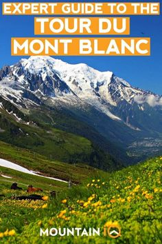 The Tour du Mont Blanc is an 11 day trekking circuit around the Mont Blanc massif, starting in Les Houches, near Chamonix. Plan your hike with this guide! Mont Blanc Hike, Mont Blanc Mountain, Ireland Vacation, Ireland Travel, Galway Ireland, Cork Ireland, Hiking Europe, Hiking Tours, Hiking Trails