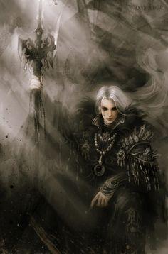 Male Sorceror Art, Gothic Art, Fantasy Art
