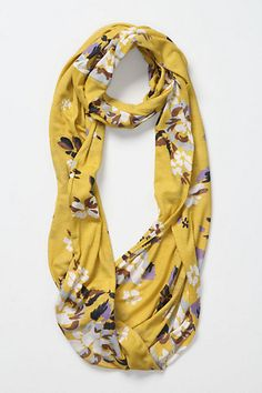Blurred Floral Loop #anthropologie  My most recent purchase :)