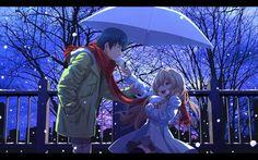Anime Toradora! Ryuuji Takasu Taiga Aisaka Fondo de Pantalla