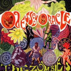 Best ever psychedelic album covers – The Zombies 'Odessey and Oracle'