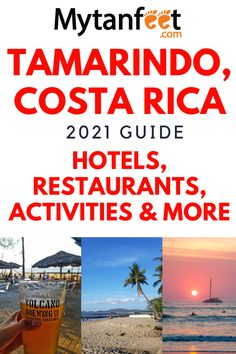 Costa Rica With Kids, Living In Costa Rica, Tamarindo, Costa Rican Food, Costa Rica Travel, South America Travel, Top Destinations, Beach Town, Beautiful Places To Visit