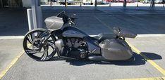 Victory Cross Country, Victory Motorcycles, Baggers, Big Wheel, Victorious, Badass, Wheels, Garage, Bike