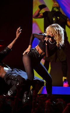 Rihanna kills it on stage! #StyledToRock