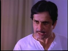 Shashi Kapoor in Govind Nihalani's Vijeta where he starred with his real life son Kunal Kapoor.