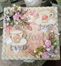 Altered cigar box swap using May kit from Scrapbooking with ME Boutique.  papergirl50.blogspot.com Shabby Chic Boxes, Shabby Chic Cards, Cigar Box Crafts, Altered Cigar Boxes, Altered Book Art, Decoupage, Crochet Doily Patterns, Camping Crafts, Bottle Crafts