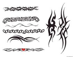Tribal tattoo designs on arm 50 300x235