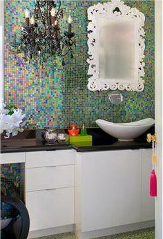 Contemporary (Modern, Retro) Bathroom by Tracy Murdock