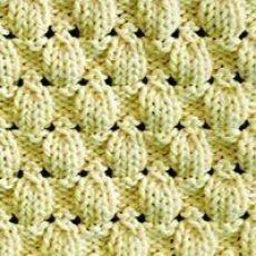 Lace Knitting Stitches, Easy Knitting, Loom Knitting, Knitting Needles, Knitting Patterns Free, Knit Patterns, Stitch Patterns, Knitting Designs, Honeycomb Stitch