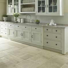 French Limestone Flooring - http://www.martinmoorestone.com/aged-french-stones.htm
