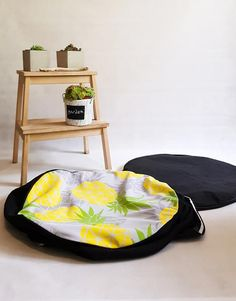 Wrinkled Paper, Black Ottoman, Poufs, Decorating Your Home, Bean Bag Chair, Trust, Upholstery, How Are You Feeling, Cover