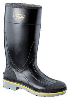 71c7f3e0d5b Honeywell Safety Servus XTP Chemical Resistant Men's Safety Hi Boot,  Black/Yellow/Grey >>> Find out more about the great product at the image  link.