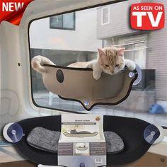 CAT HAMMOCK MOUNTED ON THE WINDOW *50% Off!* – Fashionbonline