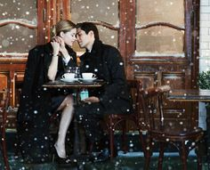 Cafe - well this will happen in my engagement pictures. Or wedding. Or both.