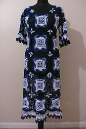 Ravelry: Cold Blue Glaciers Dress pattern by Ina Jitari