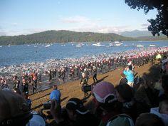 Coeur d'Alene hosts Ironman Triathlon every year in June.