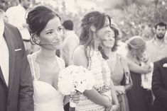 Fiorello Photography - Wedding in Mykonos Mykonos, Black And White Photography, Flower Girl Dresses, Wedding Photography, Romantic, Weddings, Wedding Dresses, Fashion, Black White Photography