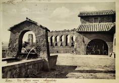 Via Appia Nuova. Acquedotto Anno: cartolina viaggiata nel 1943