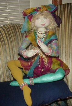 Showcase of Cloth Dolls Snow Queen, Soft Dolls, Doll Houses, Sculpting, Doll Clothes, Harajuku, Mermaid, Clay, Stylish