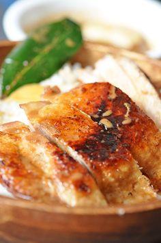 Momofuku style chicken adobo