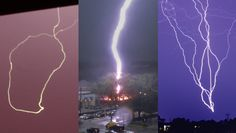 Strange lightning footage compilation with all sorts of bizarre lightning manifestations including bead lightning, ribbon lightning, streamers, anvil crawler...