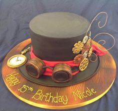 Steam punk cake