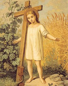 Child Jesus/ Cross 8x10