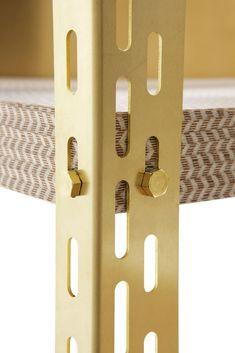 Iron Furniture, Steel Furniture, Furniture Design, Industrial Shelving, Industrial Design, Module Design, Geometric Furniture, Joinery Details, Wall Desk