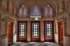 Inside an Iranian Old House.  Abbasian Historical House, Kashan, Iran. by Chaluntorn Preeyasombat on 500px
