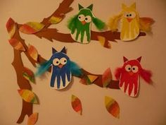 forest+animal+crafts+for+toddlers | Maro's kindergarten: Cute forest animals crafts ...