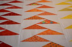 Migrating Geese  What a cool pattern!  She has a tutorial, too!