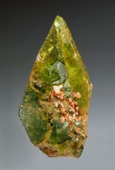 Titanite with Feldspare crystals