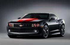 Black and Red Camaro