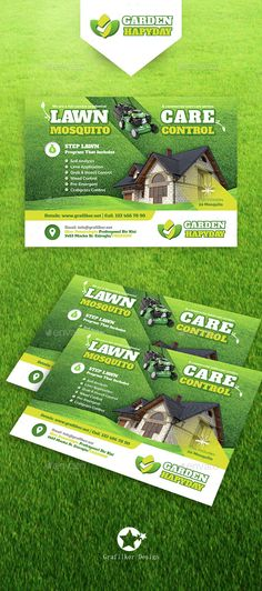 lawn landscaping flyer templates pinterest flyer template