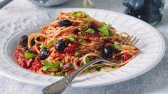 Špagety puttanesca  Foto: