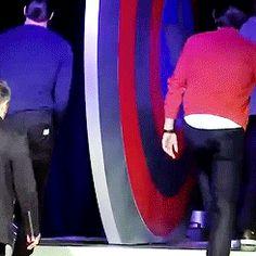 Haha what is he doing