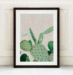 Cactus Poster Cactus Photo Print Desert Print by Art7decor on Etsy
