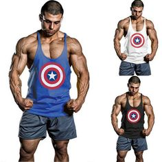 Captain America Tank Top  $11.88 and FREE shipping  Get it here --> https://www.herouni.com/product/captain-america-tank-top/  #superhero #geek #geekculture #marvel #dccomics #superman #batman #spiderman #ironman #deadpool #memes