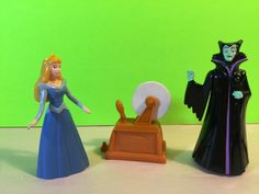 1996 McDonald's Maleficent Sleeping Beauty Figures Collectibles | eBay