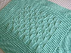 Beautiful baby afhgan pattern designs by CharlieBear! Aran Inspired Triple Stitch Crib or Cradle Quilt by charliebear, $5.00
