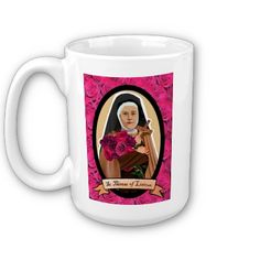 St. Therese of Lisieux mug!! Awesome!!!
