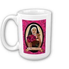 St. Therese of Lisieux mug.
