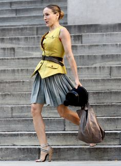 Carrie Bradshaw Fashion on Sex and the City, Sarah Jessica Parker style