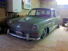 Slammed Vw Squareback Vw Variant, Vw Rat Rod, Volkswagen Type 3, Vw Classic, Slammed, Picture Video, Porsche, Colors, Porch