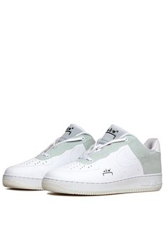 timeless design a72f4 72cb2 Nike x ACW  Air Force 1 - Optic White Flyleather