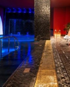 Delano Marrakech - Marrakech, Morocco. The 20,000-square-foot spa has 15 treatment rooms and his-and-hers hammams. #Jetsetter