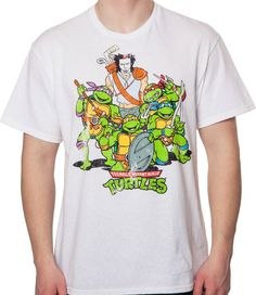 Ninja Turtles and Casey Jones T-Shirt - TMNT T-Shirt