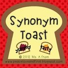 """Synonym Toast"" - what a fun play on words! Your students will easily retain their study of synonyms with these activities!  This packet includes f..."
