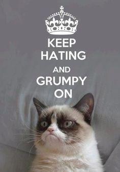 Grumpy on - Grumpy CAT