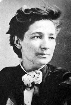Victoria Claflin Woodhull, the first woman candidate for President of the United States. She ran in 1872 from the Equal Rights Party, supporting women's suffrage and equal rights. She was also the first woman to start a weekly newspaper and an activist for labor reforms. #breakingbarriers #herstory
